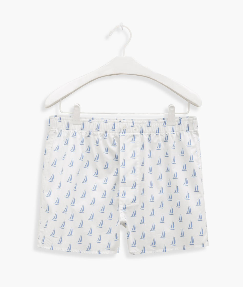 CUECA BOXER BARCOS RICHARDS