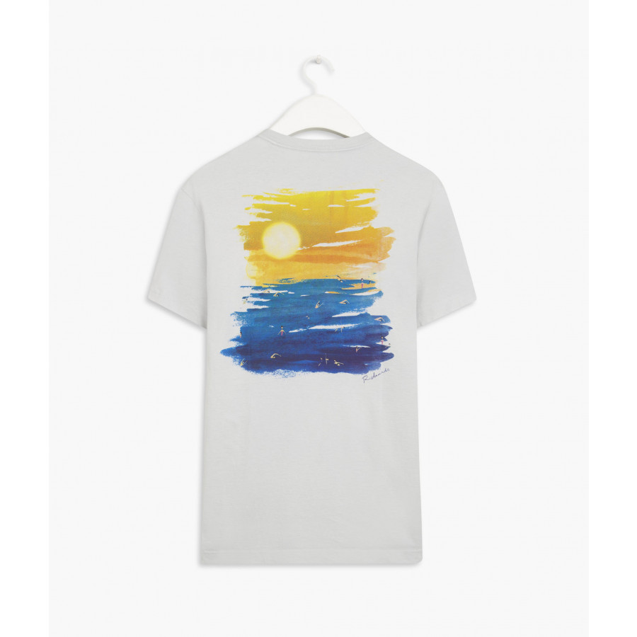 CAMISETA AQUARELA PÔR DO SOL RICHARDS