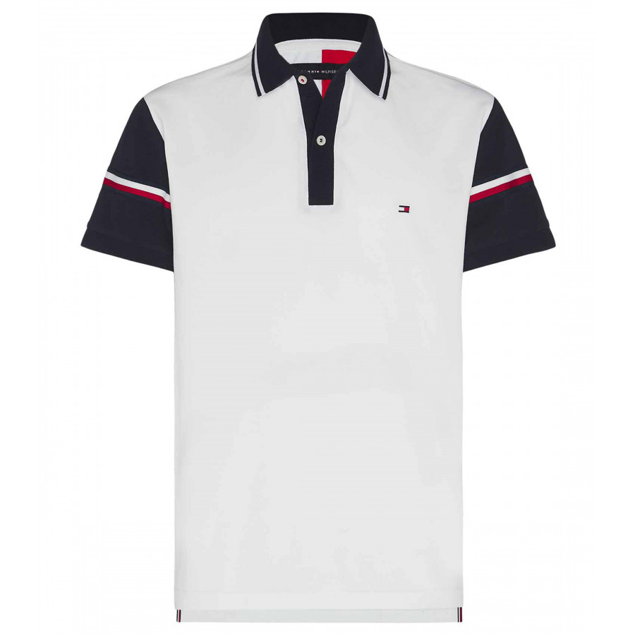 POLO SLEEVE STRIPE REGULAR TOMMY HILFIGER