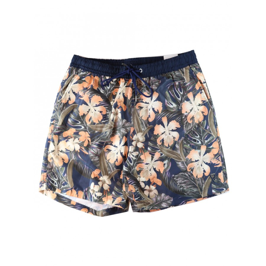 SHORTS ESTAMPA ORQUÍDEA VR